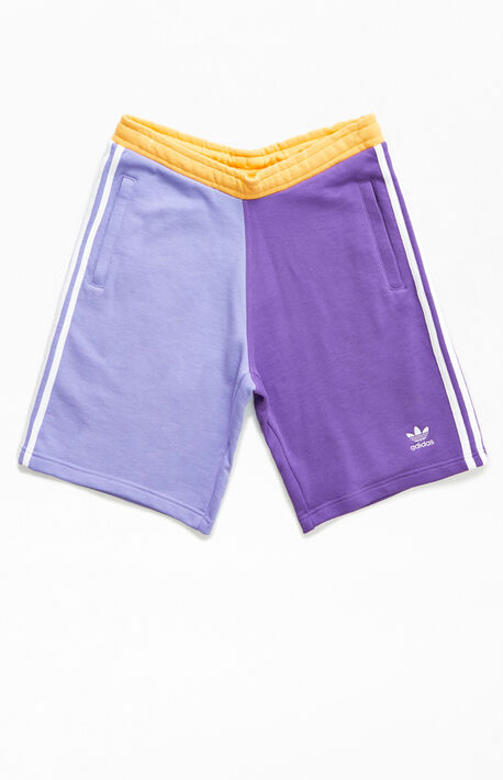 Blocked Trefoil Sweat Shorts