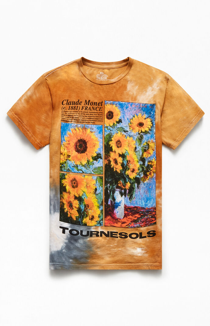 Washed Monet Tournesols T-Shirt