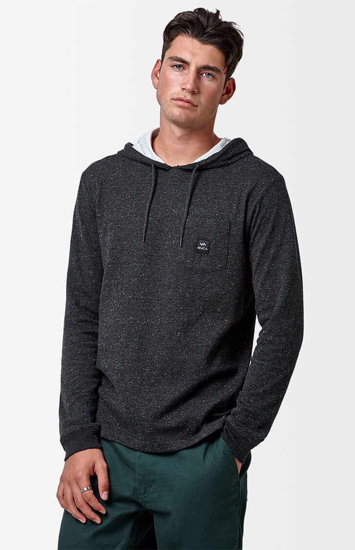 RVCA Double Time Hooded Long Sleeve T-Shirt at PacSun.com