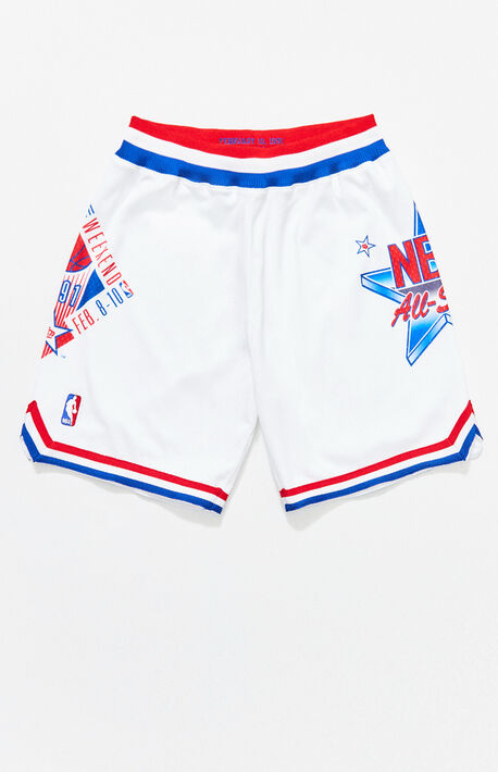a846d18b5 1991 All-Star East Basketball Shorts. Mitchell   Ness ...