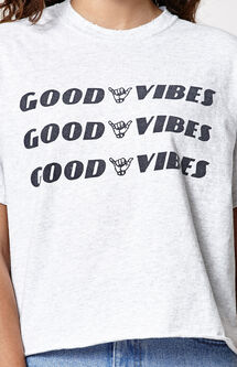Good Vibes Boyfriend T-Shirt
