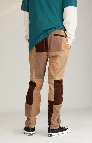 Khaki Corduroy Pants image number null