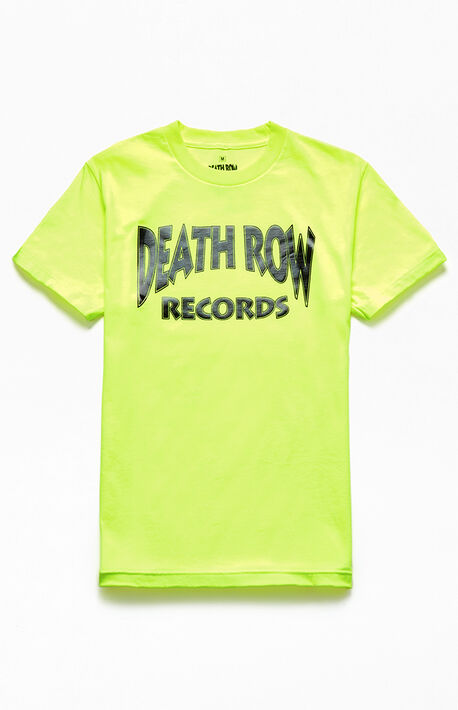 91700720 Neon Death Row Records T-Shirt