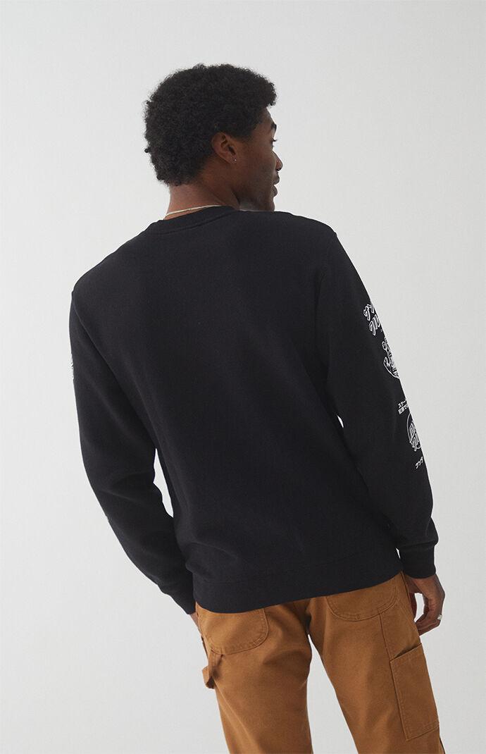 Mixed Up Crew Neck Sweatshirt