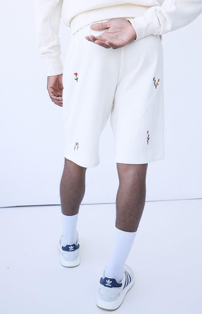 Floral Print Sweat Shorts