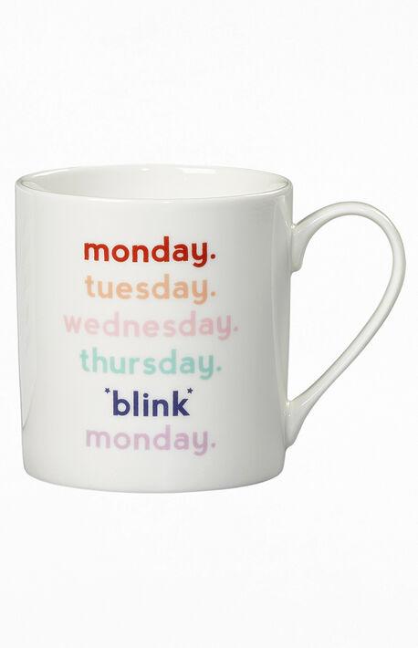 Monday Blink Ceramic Mug