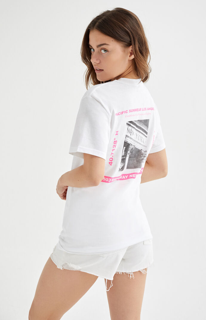 White New York City T-Shirt
