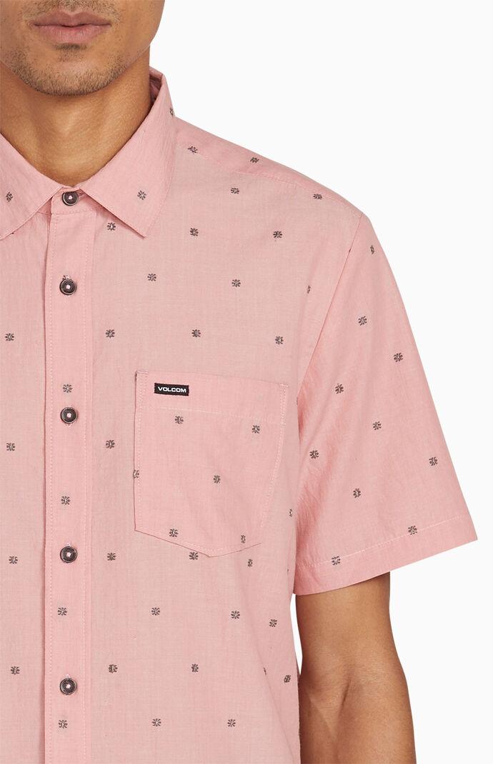 Archive Mark Short Sleeve Button Up Shirt