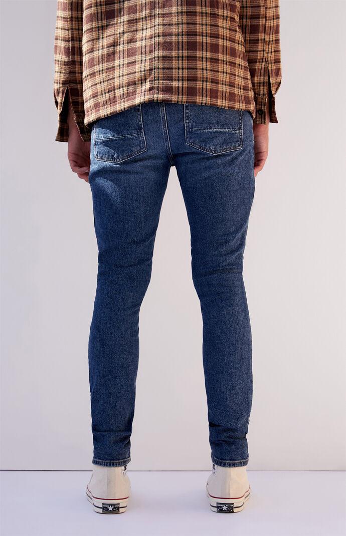 Dark Stacked Skinny Jeans
