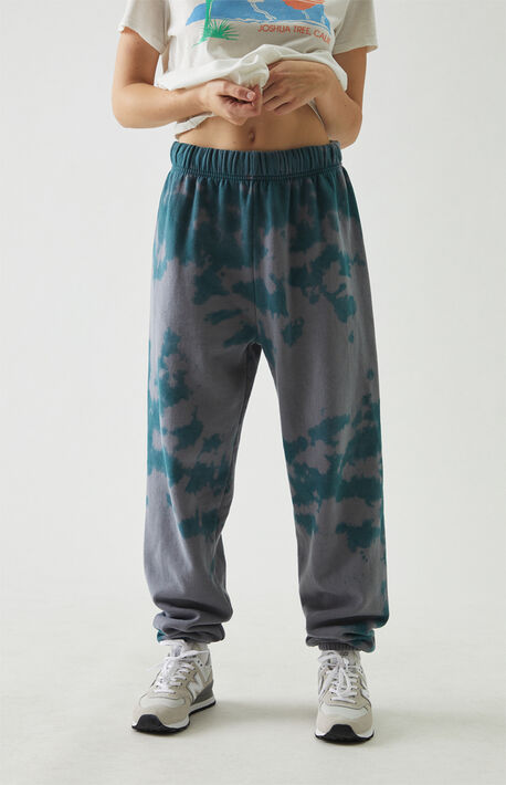 Greek Tie Dye Sweatpants