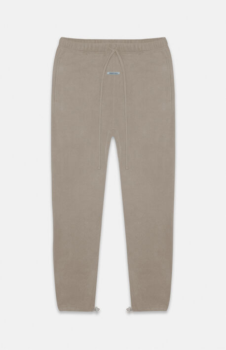 Essentials Taupe Polar Fleece Sweatpants