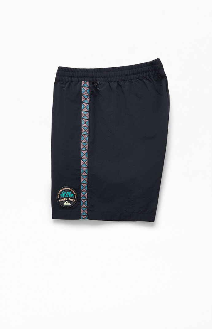 "Ethnic Side Stripe 16.5"" Swim Trunks"