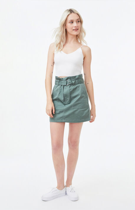 Frochickie Paperbag Mini Skirt