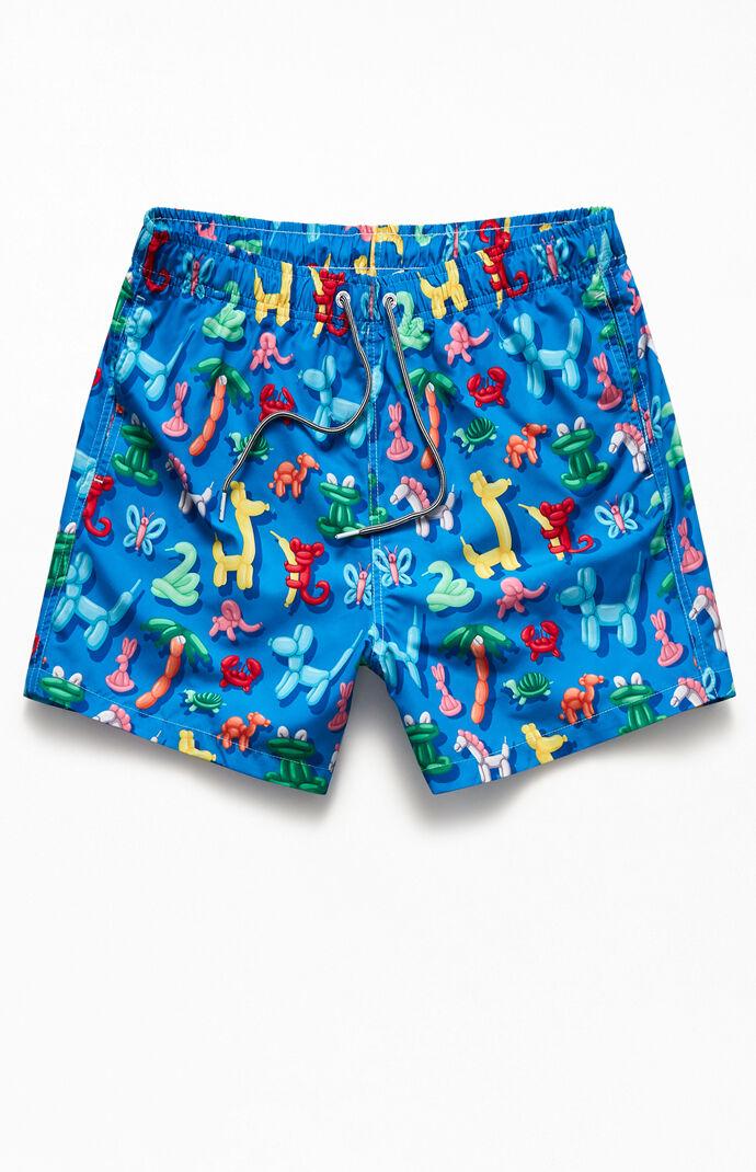 "Balloon Animals 15"" Swim Trunks"