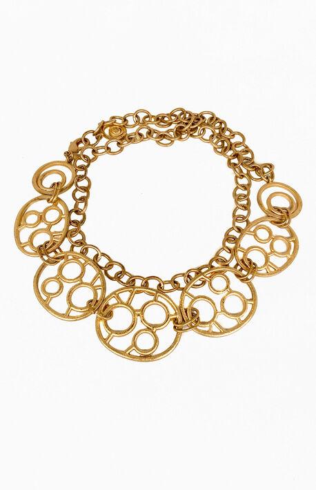 '90s Gold Chain Belt