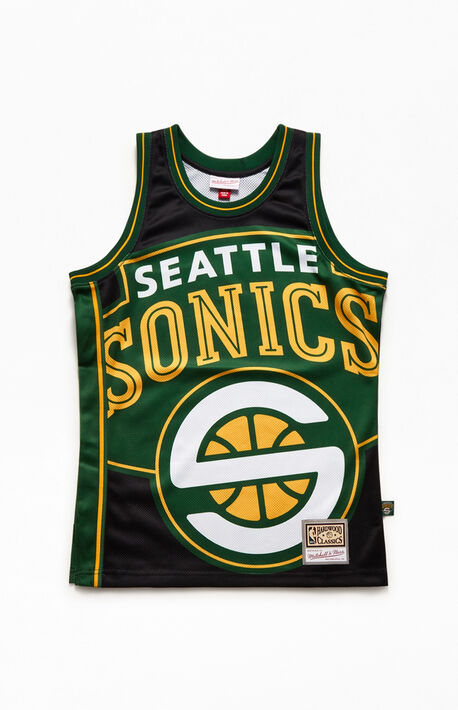 Big Face Sonics Basketball Jersey