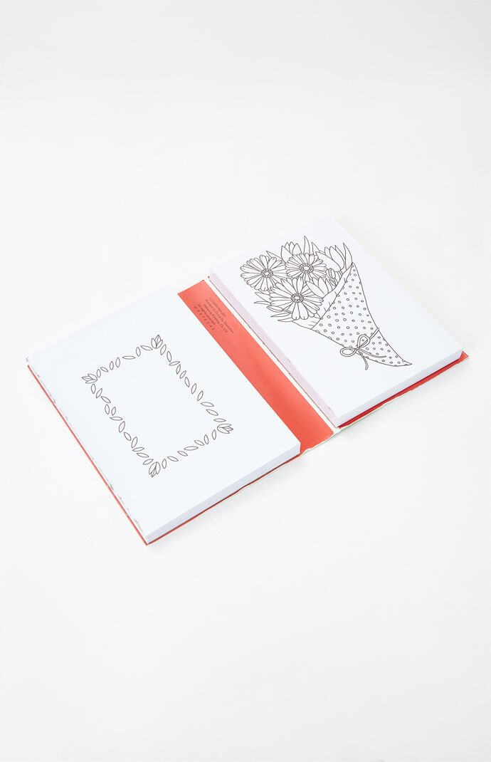 Color Your Own Greeting Cards Book