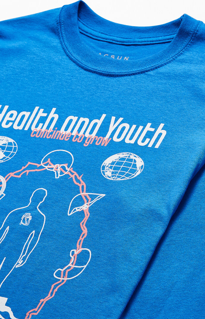 Health And Youth Long Sleeve T-Shirt