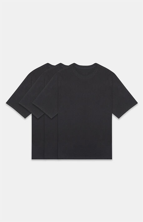 Essentials Black 3 Pack T-Shirts