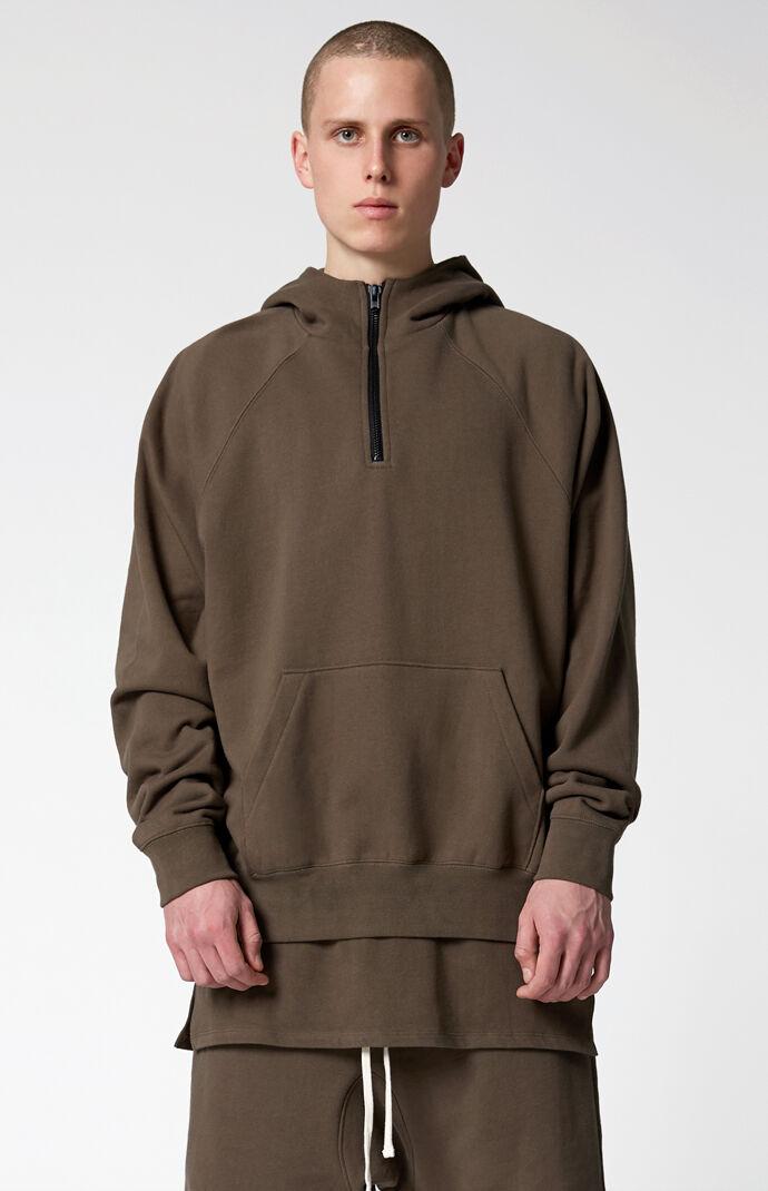 288084bdb24 Fear Of God - FOG Essentials Half Zip Pullover Hoodie
