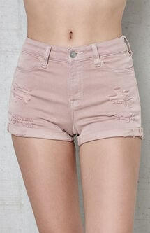 Cosmo Super Stretch Denim Shorts