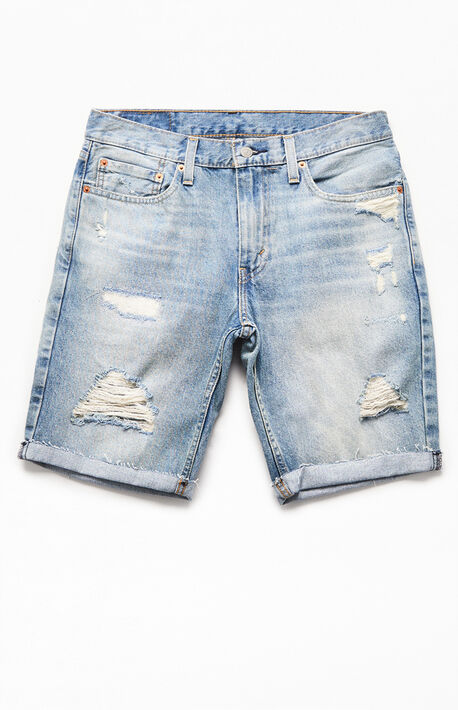 Light 511 Slim Cutoff Denim Shorts