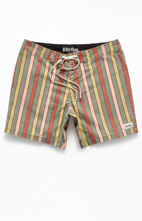 "26213010365 Vintage Striped 16"" Boardshorts"