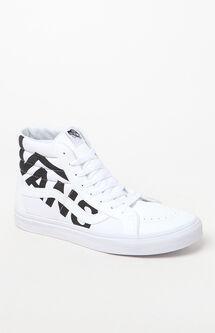 Sk8-Hi Reissue Logo White & Black Shoes