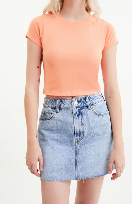 Mahoney Wash Denim Skirt