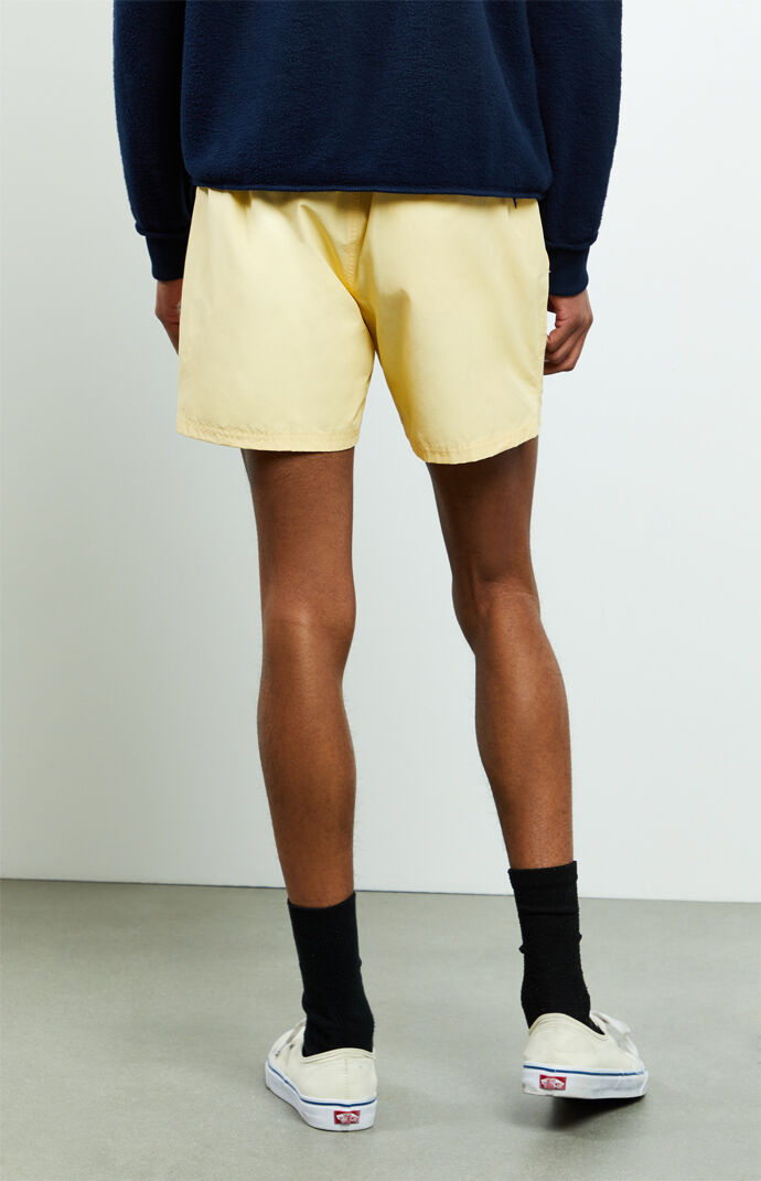 Yellow Primary Volley Shorts