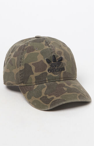 Camouflage Strapback Dad Hat