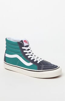 Anaheim Factory Sk8-Hi 38 DX Blue & Green Shoes
