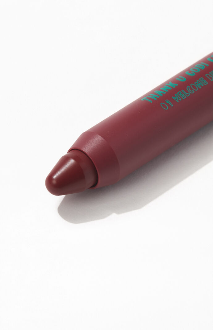 Burgundy Red Lip Crayon