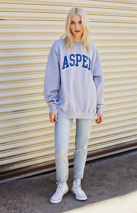 Erica Aspen Crew Neck Sweatshirt