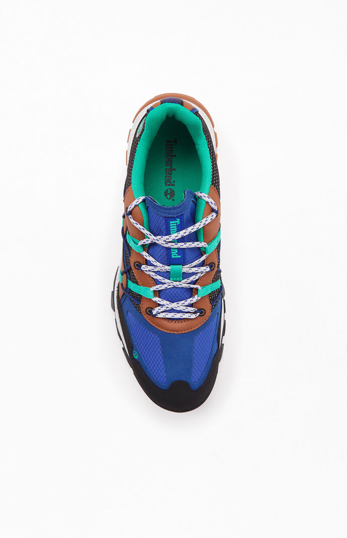 Blue & Black Garrison Trail Low Top Shoes