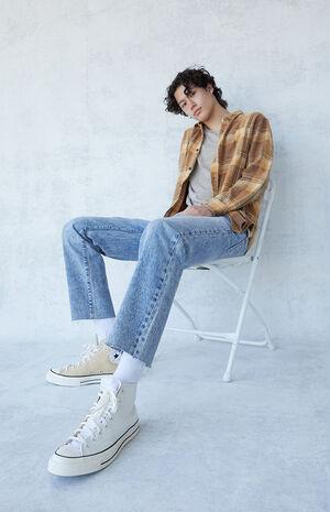 Medium Indigo Vintage Loose Jeans image number null