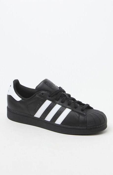 Black & White Superstar Shoes