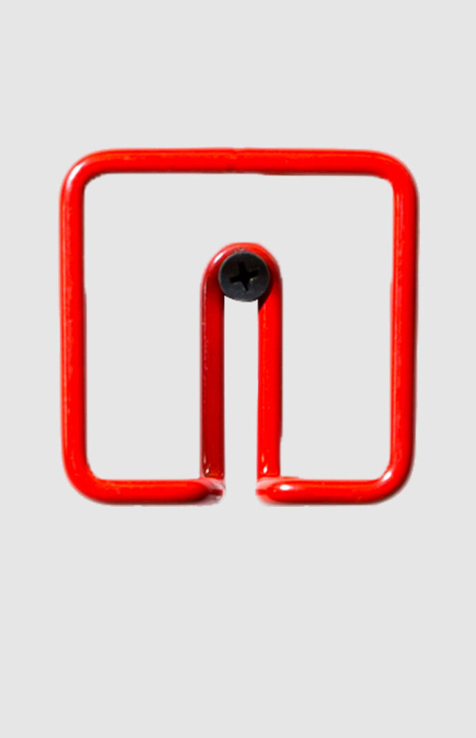 Red Square Wall Hook