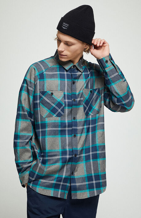 Transmission Plaid Flannel Shirt