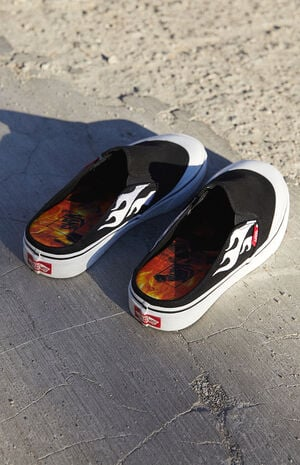 x A$AP Worldwide Classic Slip-On Mule Shoes image number null