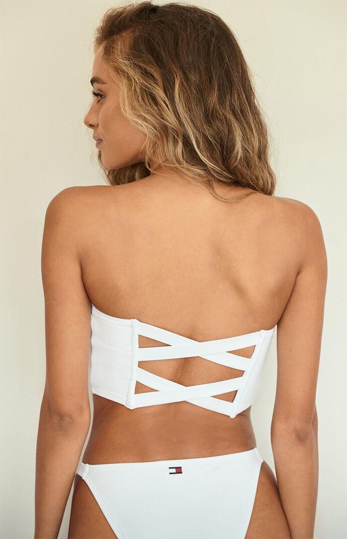 Logo Bandeau Bikini Top