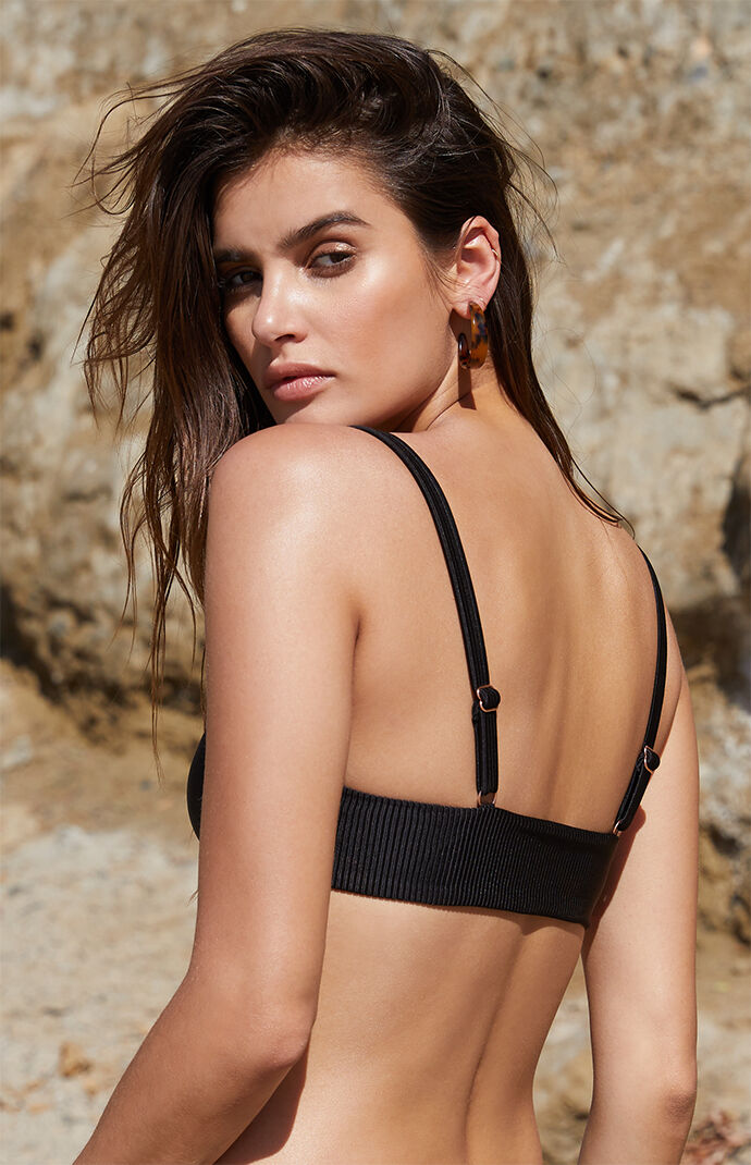 Kirra Hook-And-Eye Bralette Bikini Top at PacSun.com