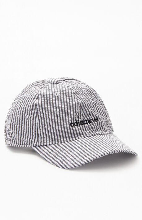 62931023a71b5f Seersucker Relaxed Strapback Dad Hat