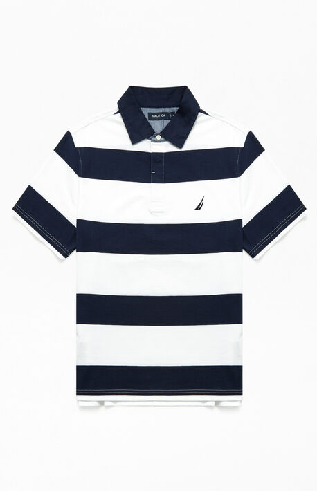 Shipman Stripe Polo Shirt