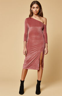 Melody Off-The-Shoulder Midi Dress