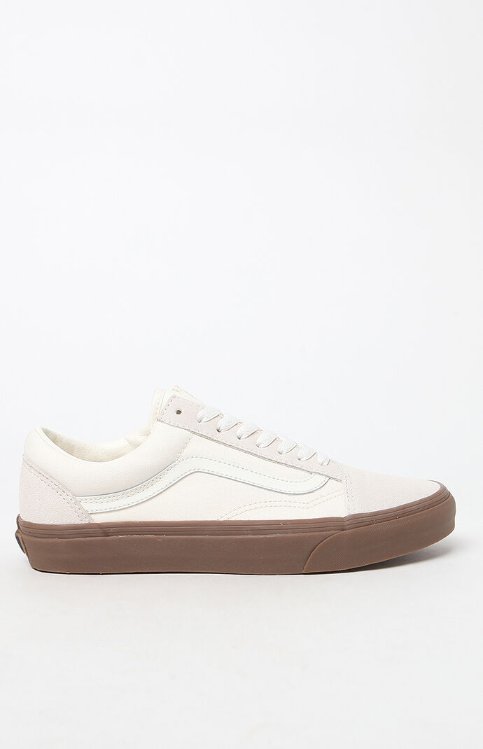 4c14b386d7 Old Skool Gum Sole White Shoes