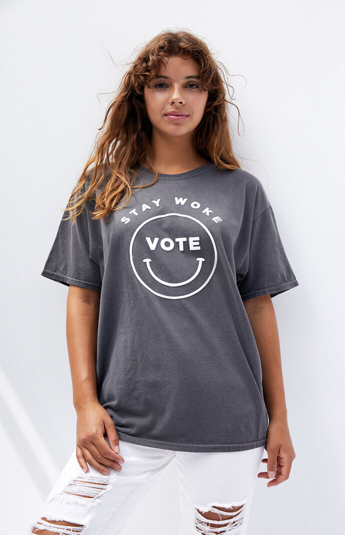 Stay Woke Vote T-Shirt