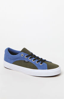 Suede Blue & Green Lampin Shoes