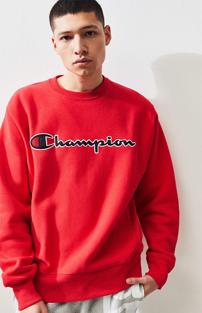 dc6ab10fd7b6 Champion Chainstitch Crew Neck Sweatshirt | PacSun