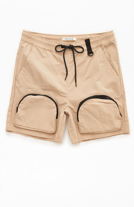 Brayson Military Nylon Shorts